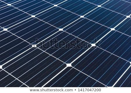 солнечной батареи ячейку рециркуляции энергии Сток-фото © dolgachov