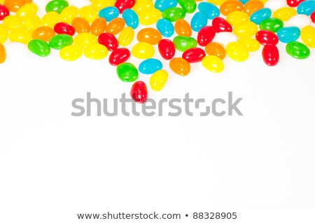 Jelly Beans Filling Frame Stock photo © frannyanne