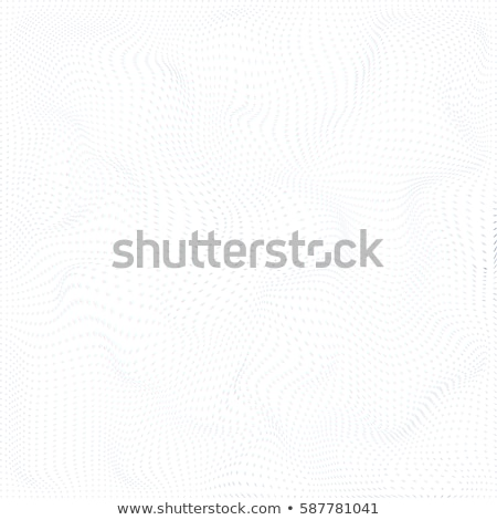 warped parametric particles surface background stock photo © trikona