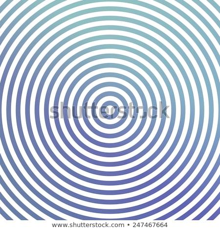 Brilhante concêntrico círculos místico colorido abstrato Foto stock © SwillSkill