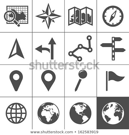 navigation icons Stock photo © oblachko