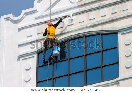 Office building painted in white Stock photo © bluering