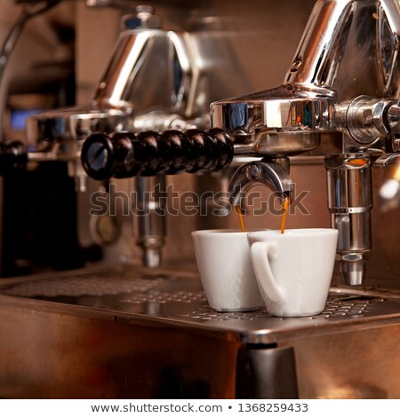 kávéfőző · kávé · fém · étterem · ital · kávézó - stock fotó © photooiasson