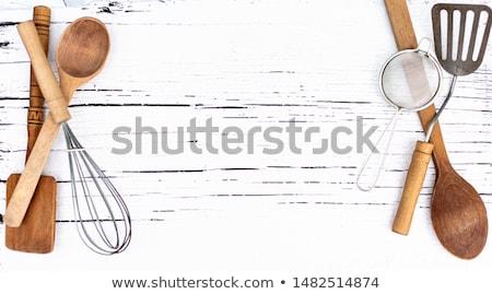paddle cutting board Stock photo © Digifoodstock