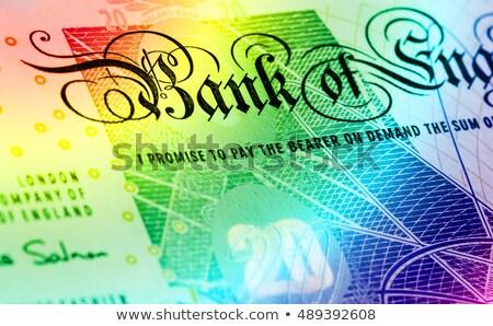 Libra moeda 20 arco-íris dinheiro Foto stock © michaklootwijk
