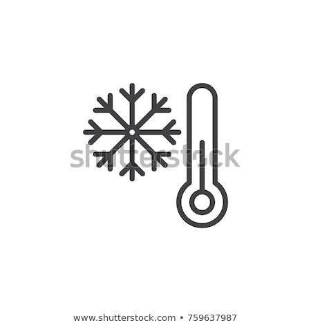 Single weather icon Stock photo © oblachko