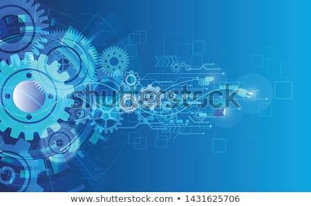 Business Integration on the Golden Gears. Stock photo © tashatuvango