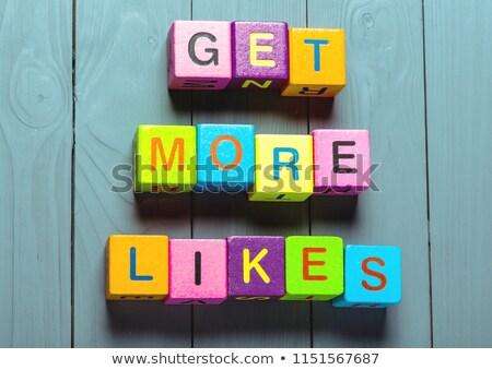 Meer post teken illustratie ontwerp grafische Stockfoto © alexmillos
