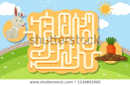 maze  what is pictured Stock photo © Olena