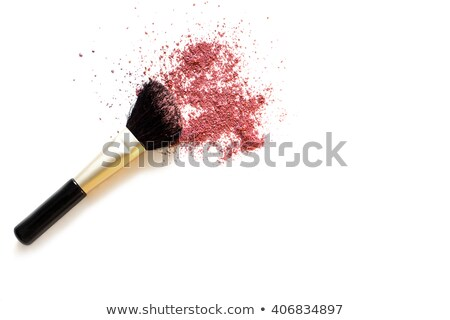 Blusher brush and blusher Stock photo © IS2