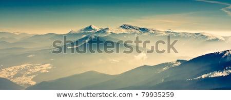 живописный мнение гор Украина снега зима Сток-фото © LightFieldStudios