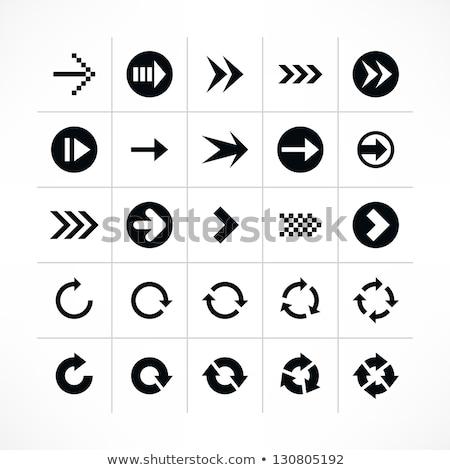 Mettre 25 vecteur web élément circulaire Photo stock © rizwanali3d