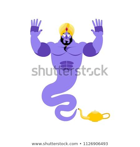 精霊 驚いた 魔法 ゴースト 感情 アラビア語 ストックフォト © popaukropa