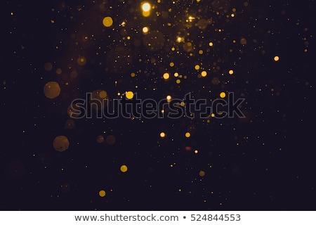 ストックフォト: 金 · 黒 · グリッター · 愛 · 抽象的な · 光