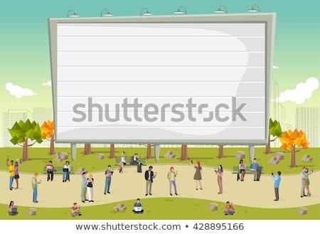 Osoby przenośny laptop posiedzenia książek Zdjęcia stock © robuart