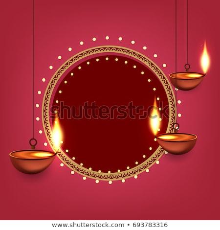 diwali sale stylish banner design template Stock photo © SArts