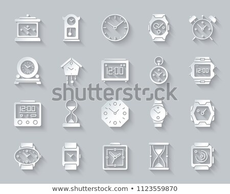 3D · 砂時計 · 孤立した · 白 · アイソメトリック - ストックフォト © kup1984