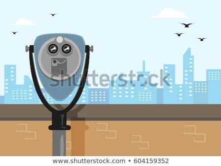 binocular viewer stock photo © boggy
