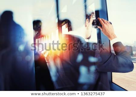moeilijk · business · groei · groot · boom · wortel - stockfoto © alphaspirit
