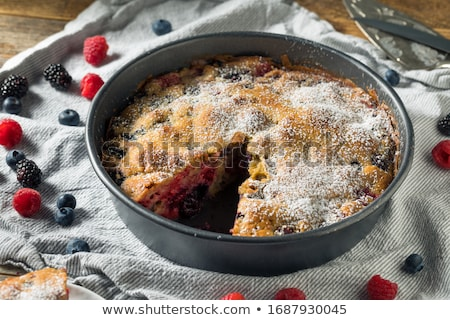 Tarts with blackberries Stock photo © AGfoto