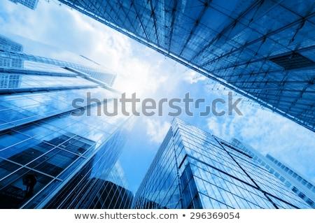 Modern building of a skyscraper. Concept of company success Stock photo © alphaspirit