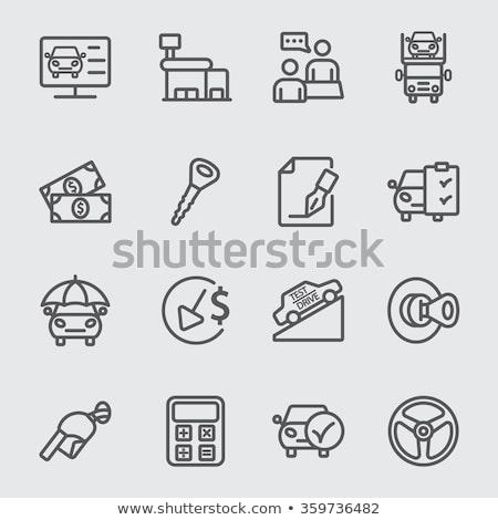 Foto stock: Gas · comercio · vector · eps · 10