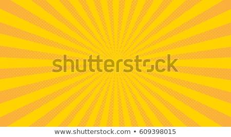 pop art sun background stock photo © studiostoks