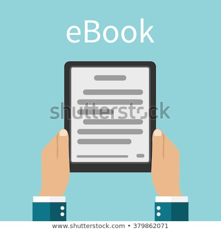 Adam ekran kütüphane telefon Stok fotoğraf © Freedomz