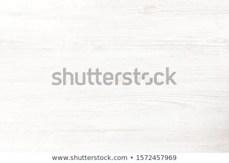 Patiné blanche bois peint table étage Photo stock © IMaster