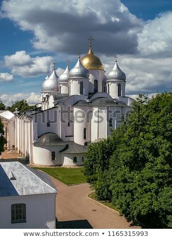 Cathedral of St. Sophia The Wisdom Of God, Veliky Novgorod Stock photo © borisb17