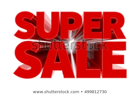 Super Sale Premium Shopping at Stores and Shops Stock photo © robuart
