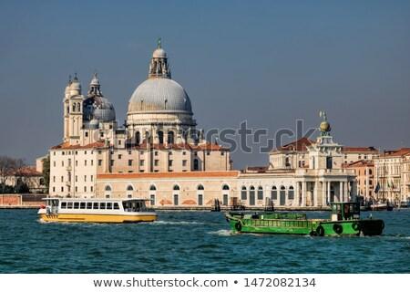 кобыла морем Таможня Венеция статуя Top Сток-фото © johnnychaos