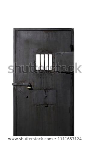 дыра тюрьму двери посмотреть внутри блокировка Сток-фото © smithore