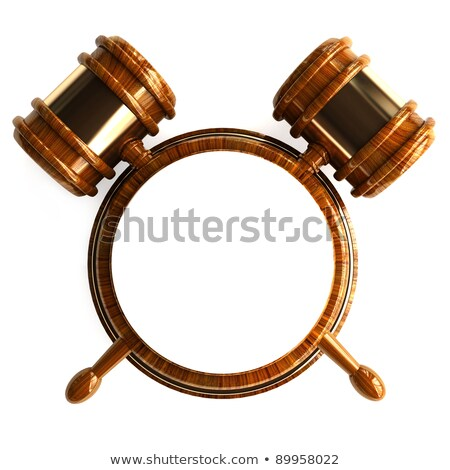 Law,law firm or government advertisement Stock photo © digitalstorm