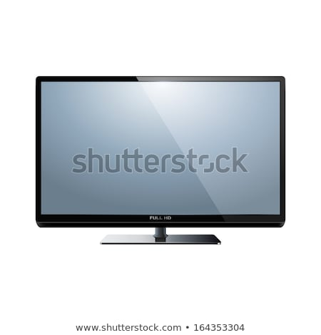 LCD televisión establecer tv tiro Foto stock © REDPIXEL