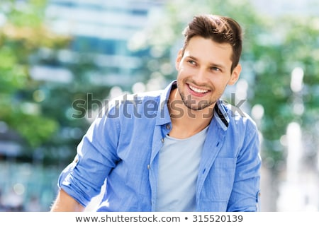 Man smile stock photo © curaphotography