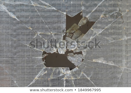 smashed wire glass squares background Stock photo © sirylok