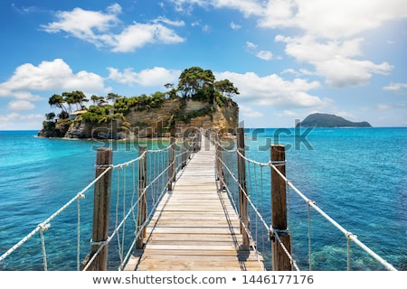 острове Закинф Греция панорамный мнение город Сток-фото © sirylok