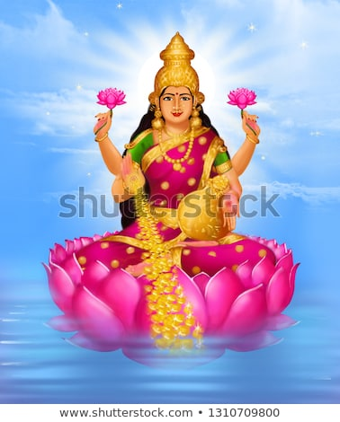 Goddess Laxmi or Lakshmi Stock photo © ziprashantzi