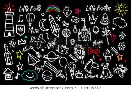 conjunto · antigo · armas · ilustração · útil · estilista - foto stock © silanti