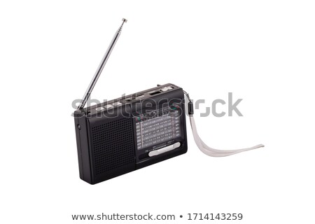 Rádio antena céu tecnologia espaço Foto stock © jakatics