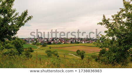 Town on the Hill Stock photo © emattil