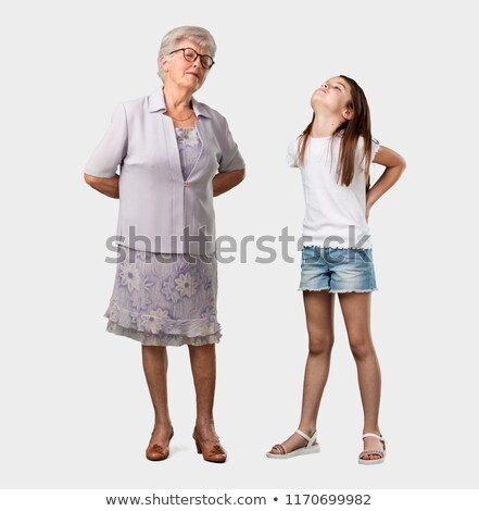 Young woman in a lot of discomfort Stock photo © photography33