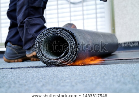 Felt roofing Stock photo © Stocksnapper