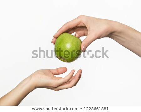 hand that suggests to take apple Stock photo © ssuaphoto