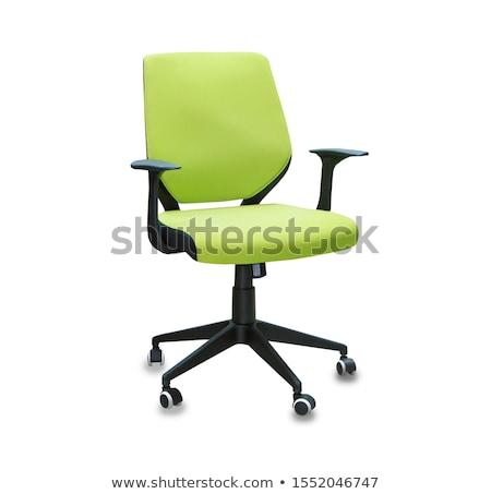 green office chair stock photo © ozaiachin