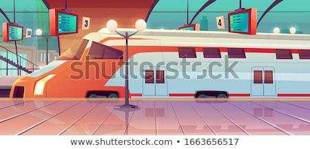 metrô · resumo · negócio · cidade · mulheres · multidao - foto stock © abbphoto