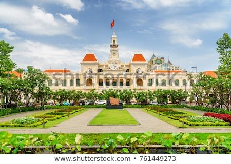 City Hall in Ho Chi Minh city, Vietnam Stock photo © tommyandone