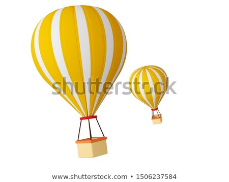 Children in fire balloon Stock photo © zzve