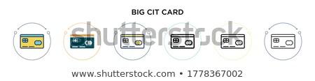 Stock foto: Kreditkarte · zwei · Batterien · rot · isoliert · weiß
